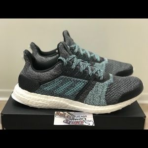 NEW Adidas Ultraboost ST 2019 Parley Blue Mens